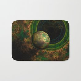 TikTok's Four-Dimensional Steampunk Time Contraption Bath Mat