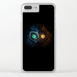 Majora Mask Clear iPhone Case