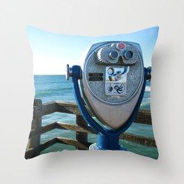 Oceanside View Throw Pillow