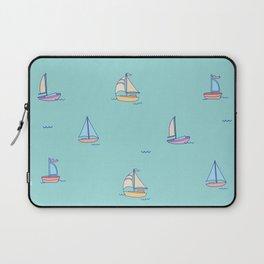 Come Sail Away Laptop Sleeve