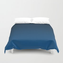 Shades of PANTONE Classic Blue Color Of The Year 2020 Duvet Cover