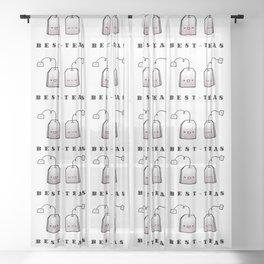 Best-Teas Sheer Curtain