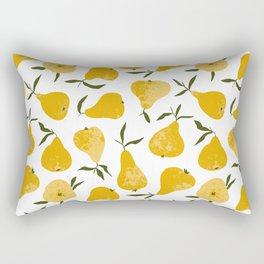 Yellow pear Rectangular Pillow