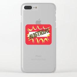 Austria Clear iPhone Case