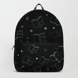 Classic Books Invert Green Backpack