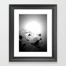Dont Tame A King Framed Art Print
