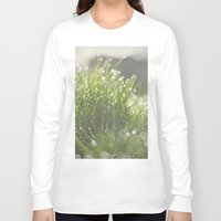 grass Long Sleeve T-shirts featuring Grass by Pure Nature Photos