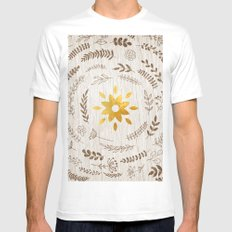 Sunny Cases I MEDIUM White Mens Fitted Tee