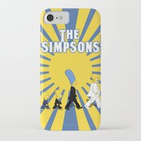 simpson iPhone & iPod Cases featuring Simpson Sun by sgrunfo