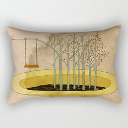 - the swing in the soup - Rectangular Pillow