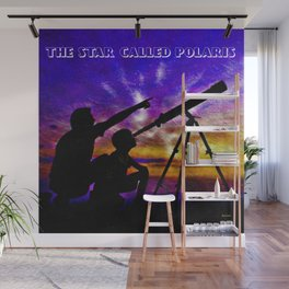 The Star Called Polaris Wall Mural