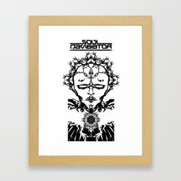 Superheroes SF - SN Framed Art Print