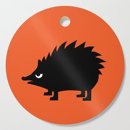 Angry Animals: hedgehog Cutting Board