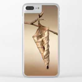 It does not want to give way Clear iPhone Case