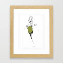 La Mode 2 Framed Art Print