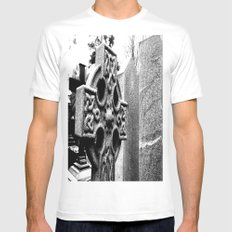 Gothic Mens Fitted Tee White MEDIUM