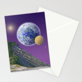 """NO WORLD IS """"ALIEN"""" Stationery Cards"""