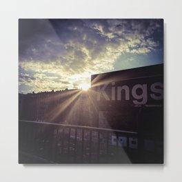 Lights in Kings Metal Print
