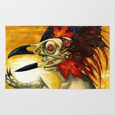 Raptor: Corvus Rug