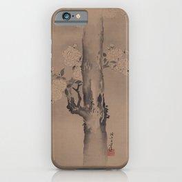 Flower - Kanō Masanobu (c. 15th century) iPhone Case