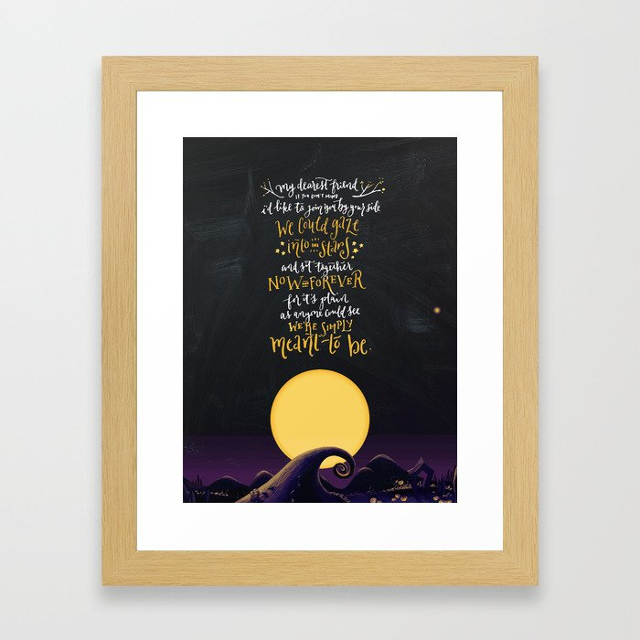 Jack Sally Simply Meant To Be Framed Art Print By Apalapucian
