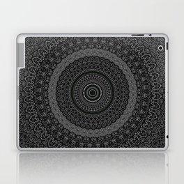 blackwhite mandala Laptop & iPad Skin