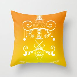 Christmas decorations 3 Throw Pillow
