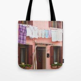 Burano in winter IV Tote Bag