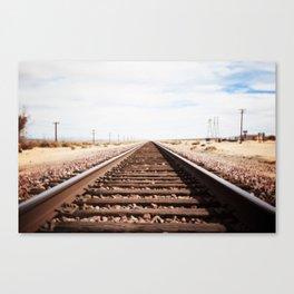 Long Road Home Canvas Print