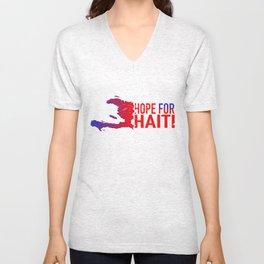 Hope For Haiti Unisex V-Neck
