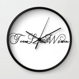 TeamLittleWomen Wall Clock
