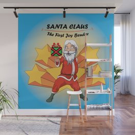 Santa Claus - the first Joy Bender Wall Mural