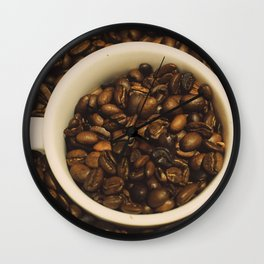 gimme a cup of coffee Wall Clock