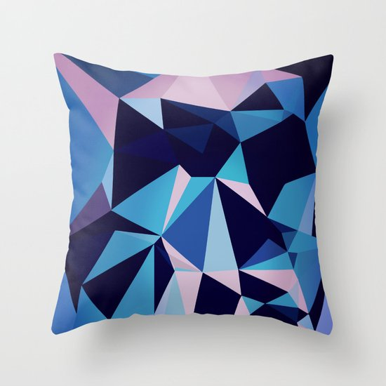 blux Throw Pillow