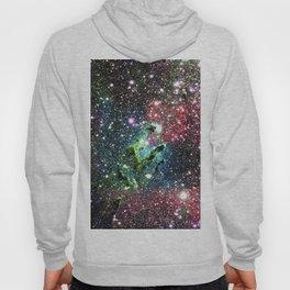 Eagle Nebula Colorful Jewel Tones Hoody