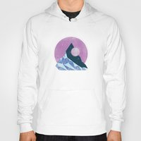 mountain Hoodies featuring Mountain by Chris Redford