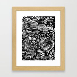 Wandering Mind Framed Art Print