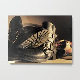 Boot Metal Print