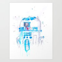 r2d2 Art Prints featuring R2D2 by sooarts
