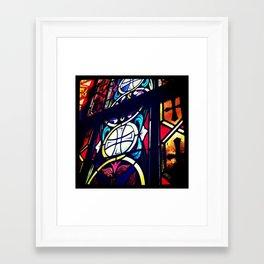 Stained Glass 2 Framed Art Print