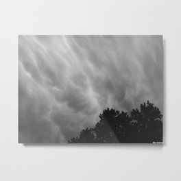 Unsettled Metal Print