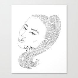I-G-G-Y Canvas Print