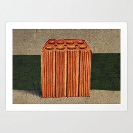 Brazilian's Brick Art Print