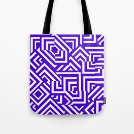 Graphically Purple Tote Bag