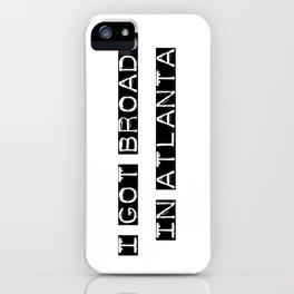 BROADS 2 iPhone Case
