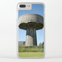 Castlemoyle - Water Towers of Ireland Clear iPhone Case