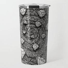 Mystique Diamonds by Kent Chua Travel Mug