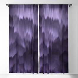 Purple and black. Abstract. Blackout Curtain