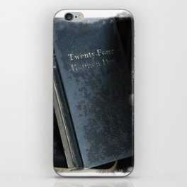 24 Hours A Day iPhone Skin