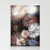 fireworks Stationery Cards featuring Fireworks by Urlaub Photography